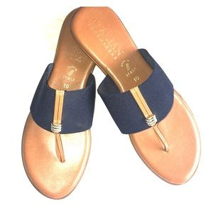 Italian Shoemaker Thong Sandal